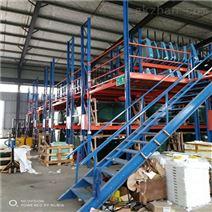 武汉货架厂直销-永固安重型阁楼货架定做