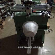 半自动曲面丝印机 单色圆面印刷机 400R自动印刷机