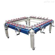 拉网机机械拉网机绷网机双夹头可定做拉力15-25牛