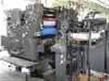 海德堡四开双色V型二手胶印机