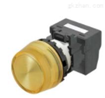 圓柱型OMRON按鈕開關:歐姆龍指示燈
