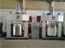 供应广东强力分散机 玻璃胶成套生产设备