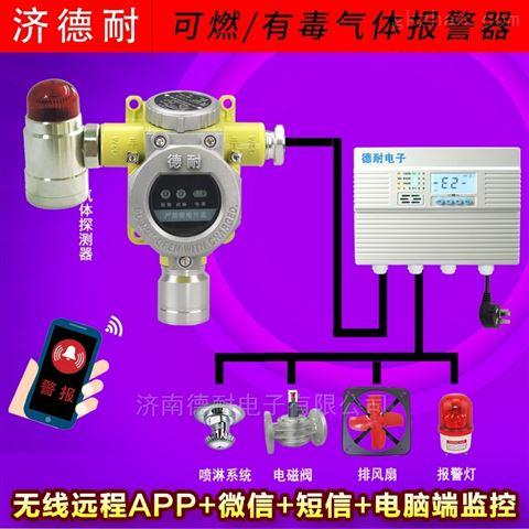 炼油油气气体浓度报警器,无线监控