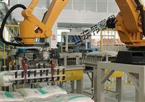 自动机器人码垛机 粉料全自动包装码垛线