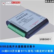 USB5801数据采集卡,24路DIO