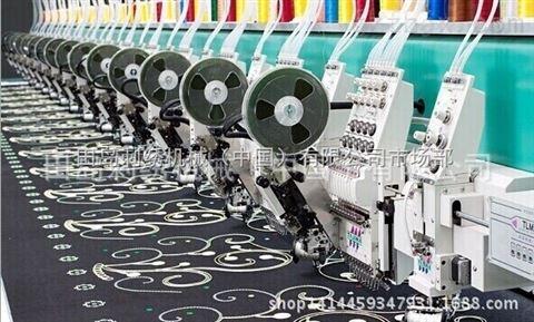 TLMX系列_环缝刺绣 盘带及卷绣刺绣机