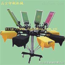 供应衣服印花机、转盘印花机,手动印花机,裁片印花机