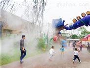 陕西锦胜-景观喷雾降温-景区公园人造雾设备