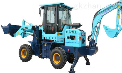 ZG-932型(两头忙)前装后挖一体机