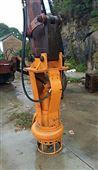 挖机安装液压泥浆泵,灰浆泵,砂浆泵