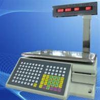 TM-P收银台进行扫描收款储存数据超市电子条码秤