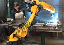 山东潍坊管道双工位机器人焊接机