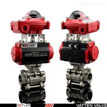 2507双相钢海水淡化气动球阀