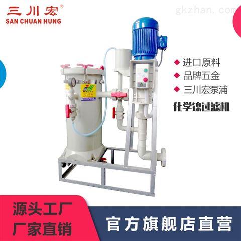 三川宏化學鎳精密過濾機CB型04-18系列