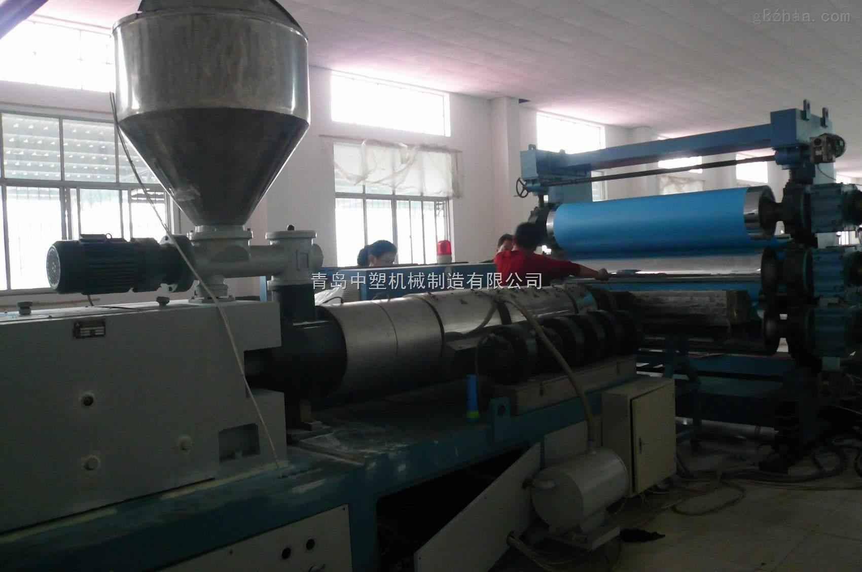 中塑PVC板片材生产线