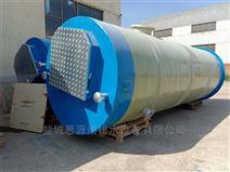 一體化污水提升泵站對強降雨作用