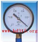 真空压力表 (-0.1~0) 型号:KJ17-YZ-150