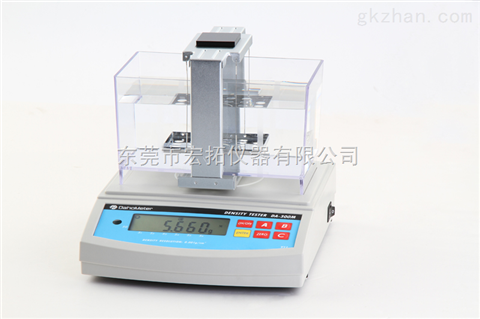 快速多功能LCD橡膠比重計