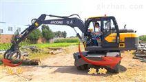 挖掘機抓木機車型多少錢一臺?