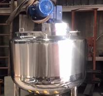 不锈钢搅拌乳化罐