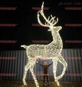 滴膠梅花鹿一家親大中鹿造型燈 圣誕節燈