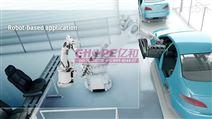 汽車智能制造車間工業三維動畫演示
