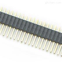 1.27mm单排直针排针连接器