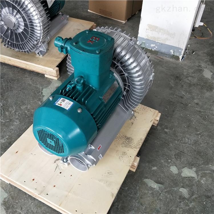 7.5kw沼气回收输送稳压防爆旋涡鼓风机选型