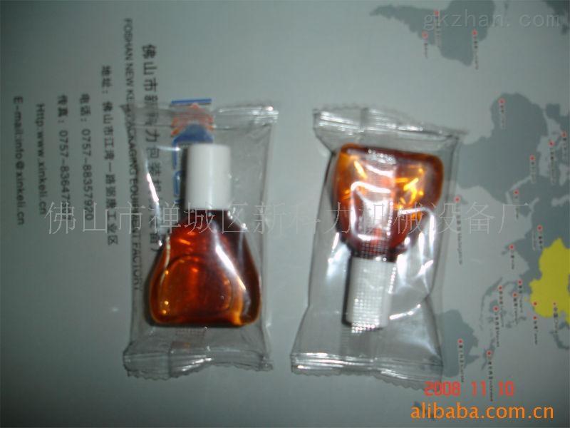 玻璃瓶子套袋包装机