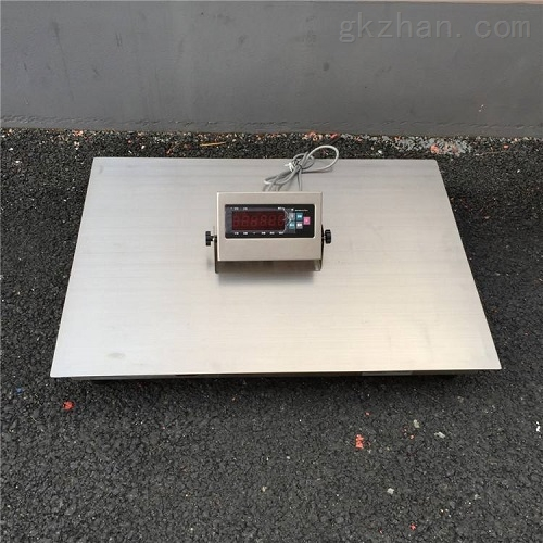 304不锈钢地磅防腐化工厂电子磅500kg电子秤