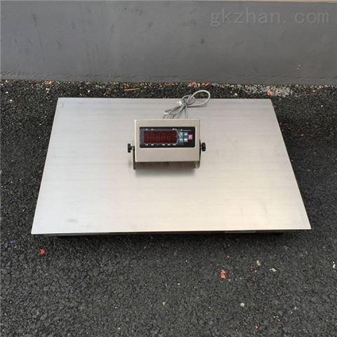不锈钢电子地磅食品行业防水小地磅防腐地磅