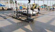 取代人工的座驾式混凝土路面整平机