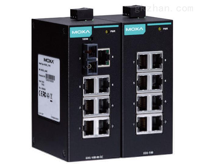 摩沙工业以太网交换机EDS-205