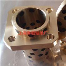 JDB-锡青铜自润滑轴承镶嵌石墨铜套耐磨衬套