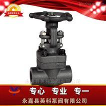 锻钢内螺纹、承插焊闸阀 CL150-800LB