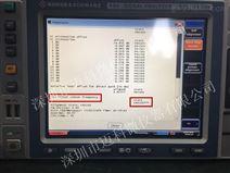 频谱分析仪FSV40维修案例