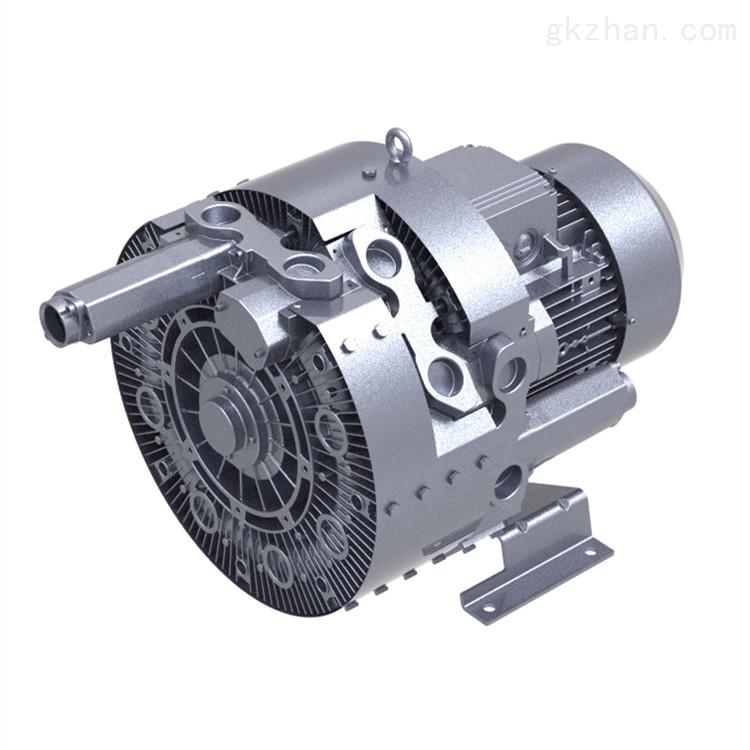 中央供料系统双段高压风机 双叶轮真空风机