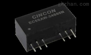 3000V隔离电压直插封装电源EC5SAW-48S05N