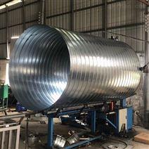 不銹鋼螺旋風管 大口徑排氣風管加工廠