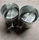 不銹鋼手動風閥 螺旋風管304價格