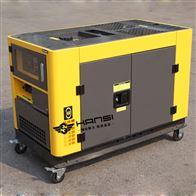 HS12T双缸风冷10KW低噪音柴油发电机