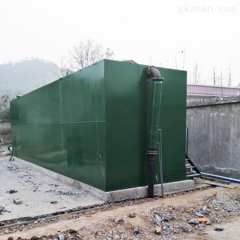 广东佛山重力式一体化净水器设备设计参数