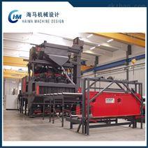 喷涂生产线设计 钢板抛丸机 非标机械设计