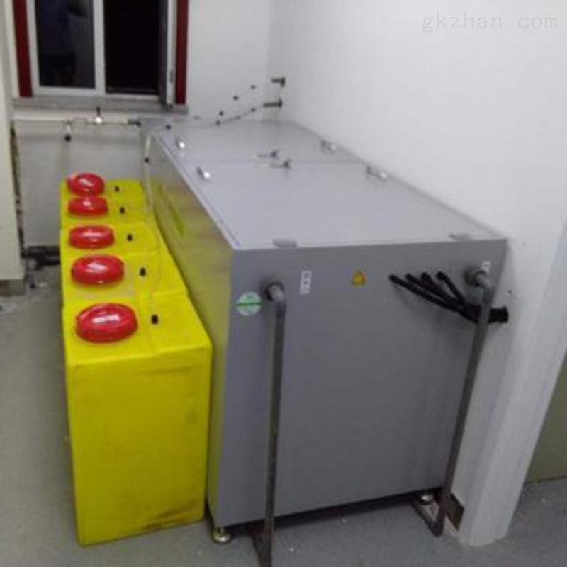 江西景德镇化验室废水处理设备安装调试说明