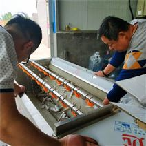 海鲜不锈钢海螺毛辊清洗机