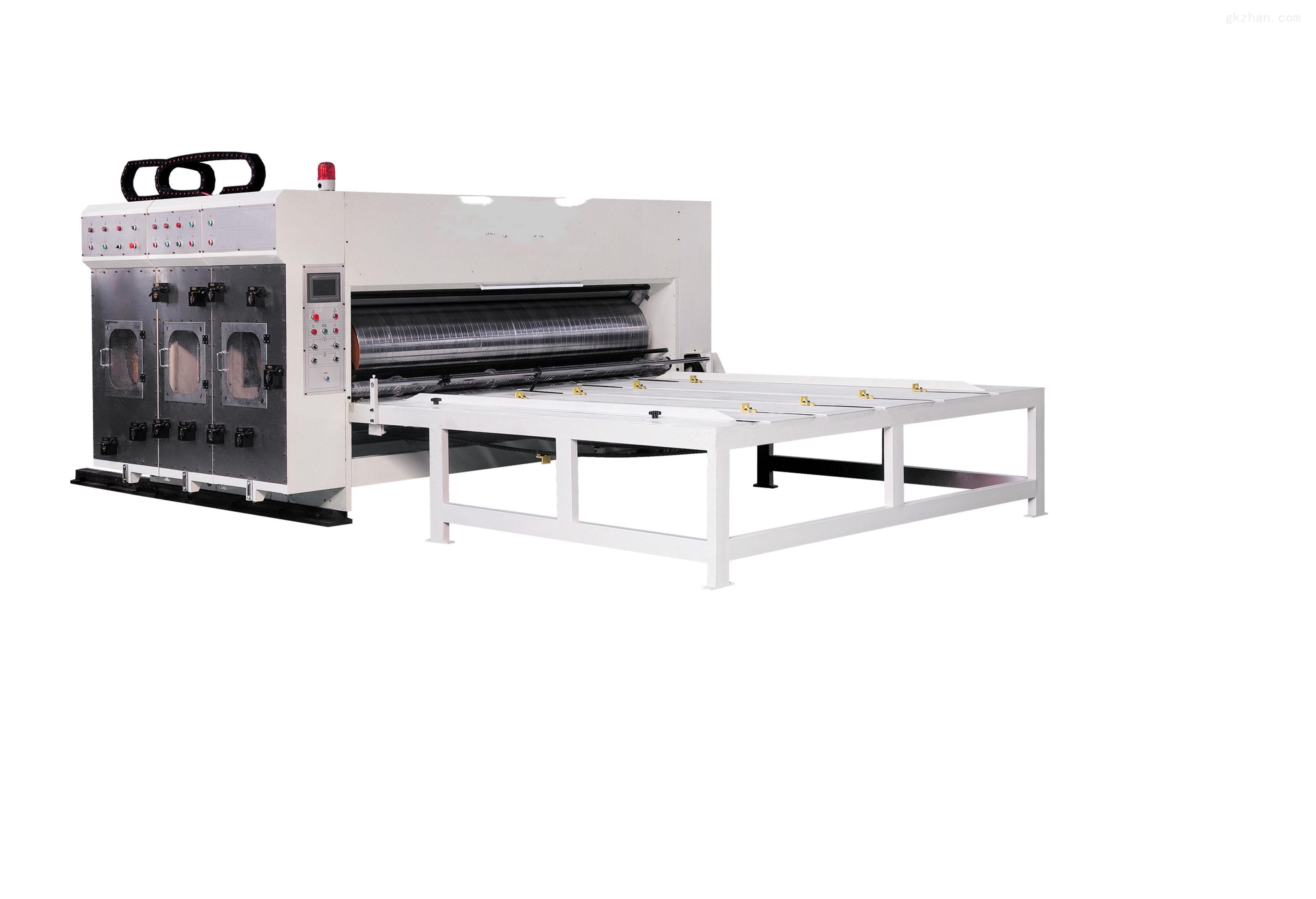 xz瓦楞纸板多色印刷开槽机