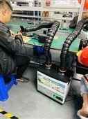 工厂车间流水线焊锡吸烟机车间焊锡烟雾处理