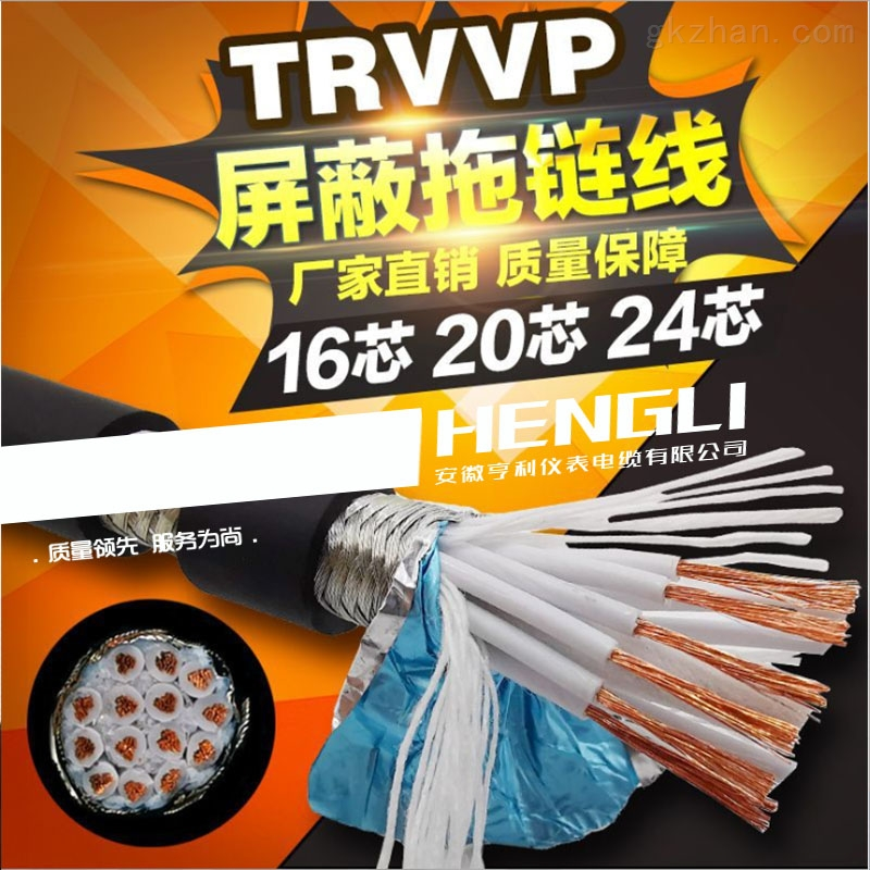 ZRC-IKVVP1控制软电缆铜丝直径2.25mm