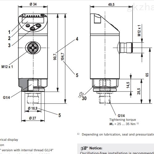Rexroth/力士乐流量控制阀HED 8系列 节能阀