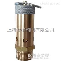 AK28X黄铜带拉环空压机安全阀cnanquanfa